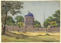 The tomb of Shams-i-Tabriz, Multan (Punjab). 30 December 1876